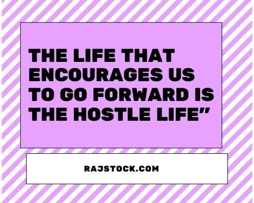 Best Missing Hostel Life Quotes in English